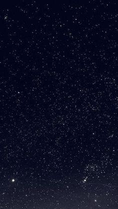 Space Sky Night Dark Nature Bw #iPhone #5s #wallpaper