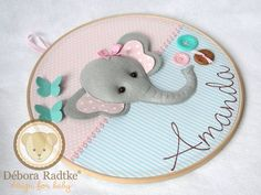 Ideas For Embroidery Baby Room Sweets Baby Shawer, Felt Baby, Baby Decor, Baby Shower Decorations, Baby Mobile Felt, Felt Crafts Patterns, Pattern Coloring Pages, Felt Wreath, Simple Embroidery