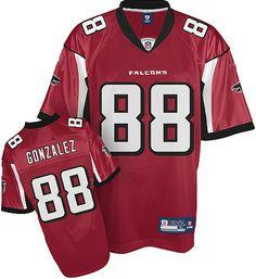 43f12ba56 Sales on Atlanta Falcons 88  Tony Gonzalez red Jersey 2013 Arizona  Cardinals