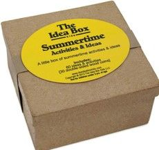 The Idea Box: Featuring Summertime Activities & Ideas for Kids, ages 3-10.