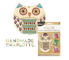 Handmade Charlotte Stitchables available in July in all major craft stores