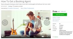 How To Get a Booking Agent http://ift.tt/1ZSauPS  #udemy #coupon #discount #couponcode #promocode