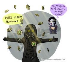 The only reason why Xûr might be available at the Reef one day. Destiny©Bungie