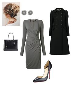 """""""Work"""" by cgraham1 on Polyvore featuring Alexandre Vauthier, Christian Louboutin, Prada, Dolce&Gabbana and Monique Péan"""