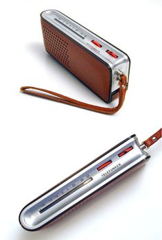 Richard Sapper, #Telefunken Match Transistor #Radio