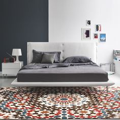 Who calls the rooms in their house spaces? I do. At least here I do. http://www.yliving.com/calligaris-evelyn-bed-queen.html #YinTheWild