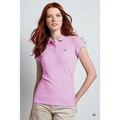 NWT Lacoste Polo Shirt New with tag. Size small but stretches, can fit a medium Lacoste Tops Button Down Shirts Lacoste Store, Emo, Grunge, Gothic, Lacoste Polo Shirts, Polo Shirt Women, Light Pink Color, Fashion Tips