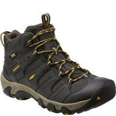 1011198 KEEN Men's Koven Mid WP Hiking Boots - Raven www.bootbay.com