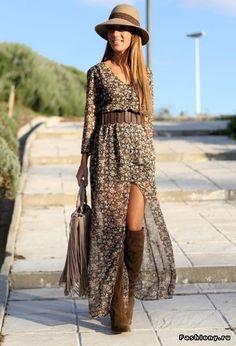 Стиль бохо – очень женственный стиль (95 фото)! / с чего начать гардероб в стиле бохо