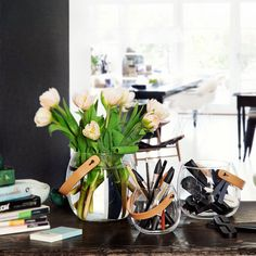 Holmegaard Design with Light pot:ホルムガード ガラス ポット Design3000, Shops, Minimalist Scandinavian, Royal Design, Everyday Objects, Glass Design, Wonderful Things, Leather Handle, Indoor