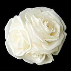 Rose Cluster Hair Flower
