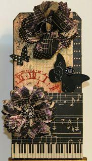 Stamp Dancer: Sunday Stamper - Week 164 Back To Black #G45 Curtain Call collection
