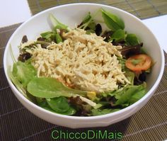 insalata di pollo  http://blog.giallozafferano.it/ilchiccodimais/insalata-di-pollo/