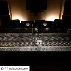 Some serious gear out there..#Repost @poptonesstudio  Recording Nosfell's orchestral work @ Studios de la Seine today #nosfell #neve #neumann #recordingstudio #vintageaudiopro