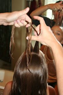 Tween Knot into Side Ponytail | Cute Hairstyles | Hairstyles, Braids and Hair Style Ideas | Cute Girls Hairstyles
