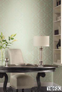 『Import Wallpaper TECIDO THE BLOOMING HOUSE 5 YORK GG4752』 http://item.rakuten.co.jp/interior-cozy/gg4748_gg4752/ #wallpaper #interior #diy #usa #輸入壁紙 #壁紙