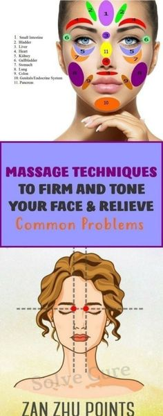 Massage Techniques To Firm And Tone Your Face & Relieve Common Problems