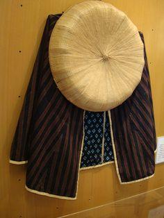 """Traditional Japanese Dress worn by """"Medicine Men"""" or Bayaku-san."""
