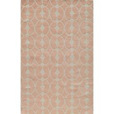Momeni 'Lil Mo Trellis' Pink Cotton Rug | Overstock.com Shopping - Great Deals on Momeni 5x8 - 6x9 Rugs