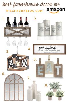 Amazon is KING for home decor. Here are the best farmhouse decor items! Farmhouse decor, farmhouse decor living room, farmhouse decor kitchen, farmhouse kitchen, farmhouse living room, farmhouse diy, fall decor, bedroom ideas, bathroom decor, kitchen ideas, amazon finds, things to buy on amazon, farmhouse modern decor, farmhouse decor ideas, home decor ideas, home decorating, interior design.