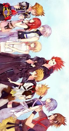 Awwww... Triple trios. Oh and Namine.