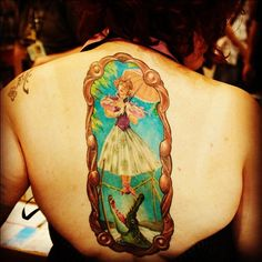 Haunted mansion tattoo! Love this but I know I'd never get it. Way too big for me