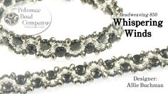 """This video tutorial from Potomac Bead Company designer Allie Buchman teaches you how to make here """"Whispering Winds"""" bracelet design. A list of materials is ..."""