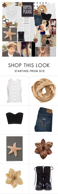 """""""{ Holding on your hand, dancing in the dark ♥ }"""" by sweaterzourry ❤ liked on Polyvore featuring Evil Twin, H&M, GUESS by Marciano, Hollister Co., Color My Life, Clips, Cotton Candy, Chanel, Diesel and skinny jeans"""