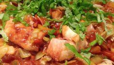 Gado-gado uit de stoomoven – Anja's Foodblog Gado Gado, Deserts, Good Food, Pasta, Favorite Recipes, Chicken, Meat, Fruit, Postres