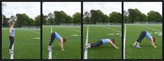 Using the Yard Lines – A 5 Minute Animal Pattern Workout