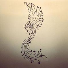 Resultado de imagem para fenix minimalist tattoos