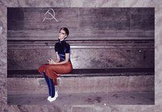 Vintage Clothes Rag And Bone Man. Photograph/Styling: Alexander Sebastian Trah. Model: Sophia Exss. Makeup: Wie Liu. #ragandbonemanvintage #sustainablefashion #vintage #berlin