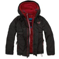 Black Friday Sale at Hollister Co Mens Hollister All Weather Jacket