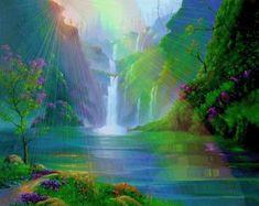 """deepsoulfury: """"Gif-Waterfalls """""""