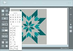 KnitBird 2.0 - Software for designing knitting charts