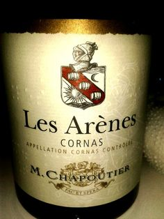 Les Arenes, Cornas, France. Rhone blend, recommended by Roland Peens, Wine Cellar wine club. Chaka's Rock, South Africa. Colour : intense red colour with purple lights. Nose : very ripe fruits, raspberry and blackcurrant jams. Mouth : blackberries, spices, morello cherry. Dense and tight tannins with a great persistency in mouth.  Mainly Syrah variety.