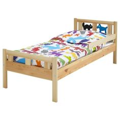 KRITTER Πλαίσιο κρεβτ & προστ/κό κάγκελο - IKEA