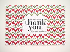 #card #greeting card #thank you card #heart #flower #love #cute #lovely #red