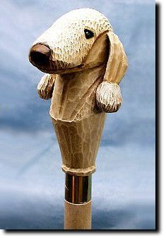 Dog Walking - Obeidence Comes With A Bit Of Training - Best Dog Training Chien Fox Terrier, Terrier Dogs, Walking Sticks And Canes, Walking Canes, Hiking Staff, Hand Carved, Hand Painted, Best Dog Training, Animal Skulls