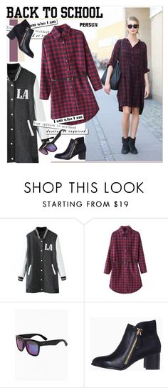 """Back to School: Fall Jackets"" by paculi ❤ liked on Polyvore featuring мода, BackToSchool и fall2015"