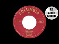 1952 HITS ARCHIVE: Please Mr. Sun - Johnnie Ray & The Four Lads - YouTube
