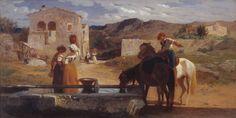 George Mason 'Italian Landscape', 1845–58