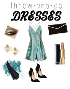 Blue marine by loveclo on Polyvore featuring polyvore, fashion, style, Topshop, Valentino, Chanel, Bare Escentuals and clothing