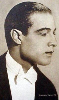 Rudolph Valentino was Hollywood's first male sex symbol. He had what is called flesh appeal which meant that he jumped out at you from the silver screen. Women enjoyed watching his films and imagining that they were in the place of the actress onscreen that he was making love to. They could dream that those sensuous sensitive poetic hands were caressing their bodies inflaming them with unspoken desires. The fact that Rudy was a foreigner provided the added titillation of forbidden fruit