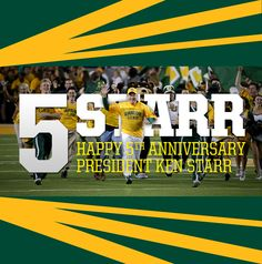 A quick look at just how much has happened at Baylor in President Starr's 5 years.