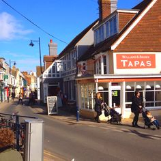 Whitstable High Street ...LOVE this little town in England. Went and stayed here with my friend Alice and her Godmother who lives there. What a happy place!