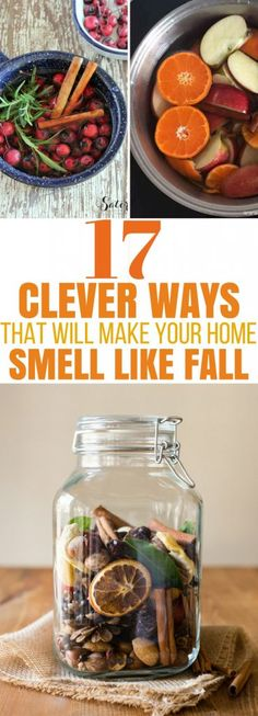 Try these GENIUS ways to make your home smell like Fall! DIY an air freshener, use essential oils, make simmer pots in a crockpot, try making pumpkin spice candles or potpourri. So many fabulous ideas! Homemade Potpourri, Potpourri Recipes, Fall Potpourri, Simmering Potpourri, Pumpkin Spice Candle, Diy Pumpkin, House Smell Good, House Smells, Essential Oil Candles