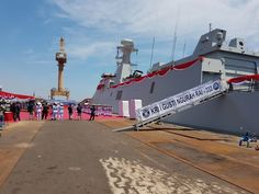 Military and Commercial Technology: Indonesian Navy receives second PKR frigate KRI I Gusti Ngurah Rai
