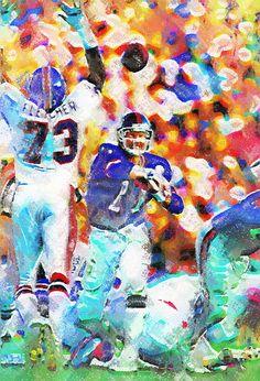 Phil Simms Pastels Painting - Virtual Painter 6.