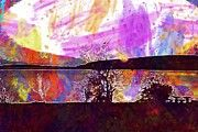 "New artwork for sale! - "" Water Night Birds Sunset Sun Lake  by PixBreak Art "" - http://ift.tt/2tTI3q0"